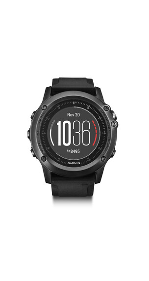 Garmin fenix 3 HR Saphir GPS Multisportuhr Performer Bundle/Premium HRM-Run grey